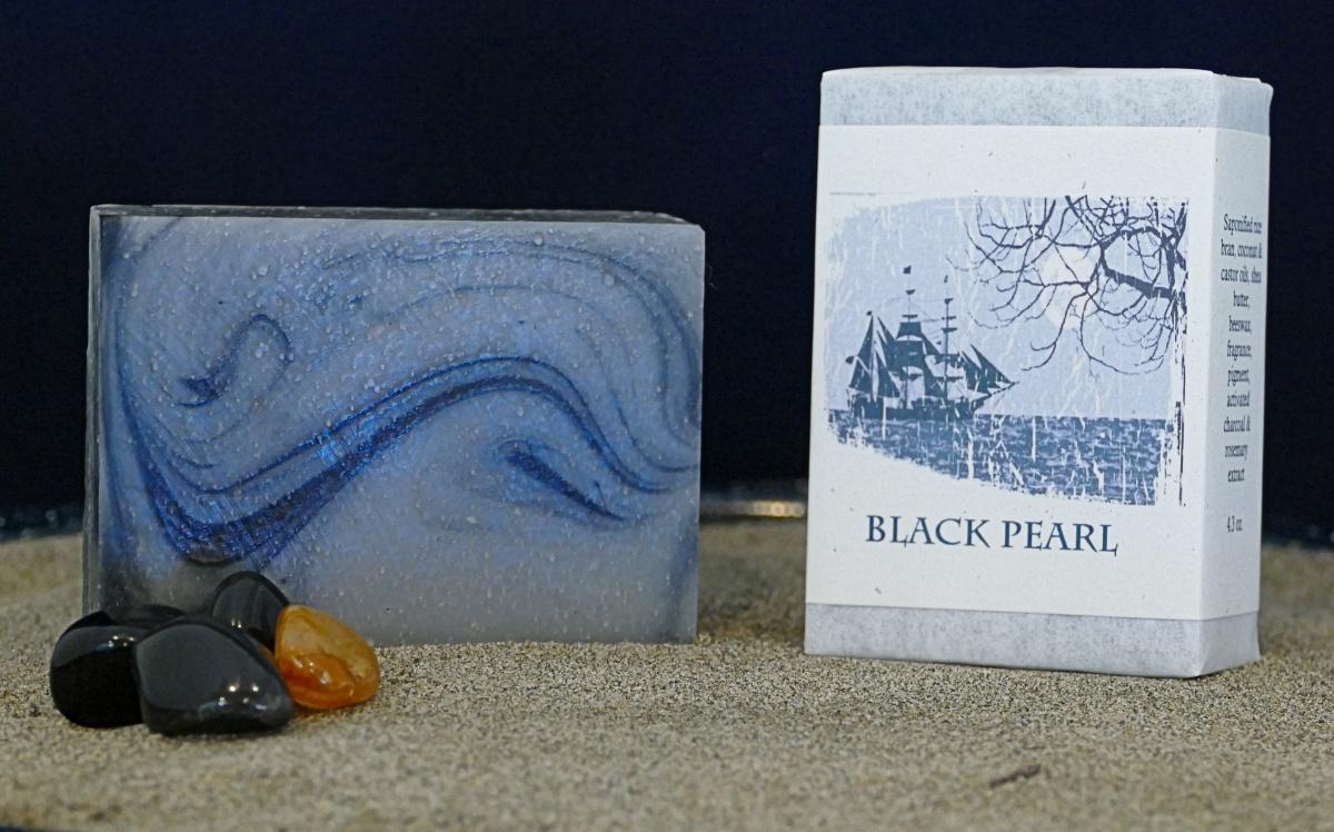 Harmony Soapworks - Black Pearl Soap