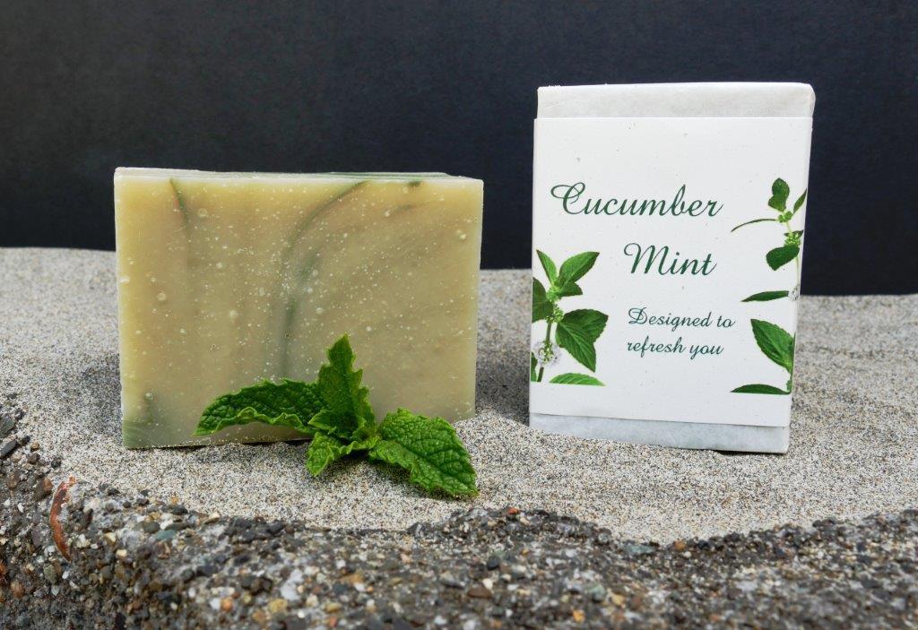 Harmony Soapworks - Cucumber Mint Soap