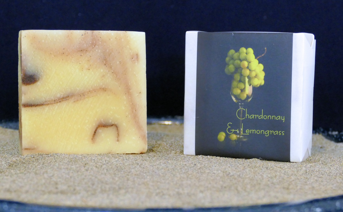 Harmony Soapworks - Lemongrass Chardonnay Soap