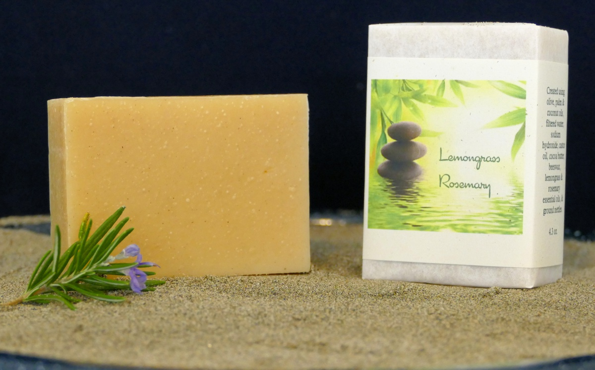 Harmony Soapworks - Lemongrass Rosemary Soap