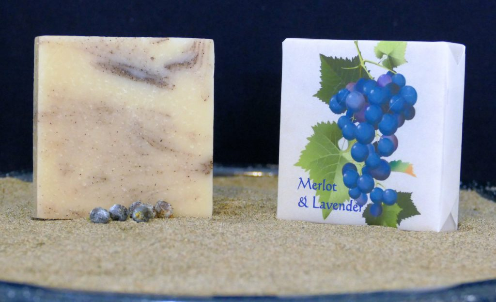 Harmony Soapworks - Merlot & Lavender Soap