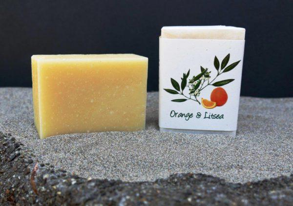 Harmony Soapworks - Orange and Litsea Soap