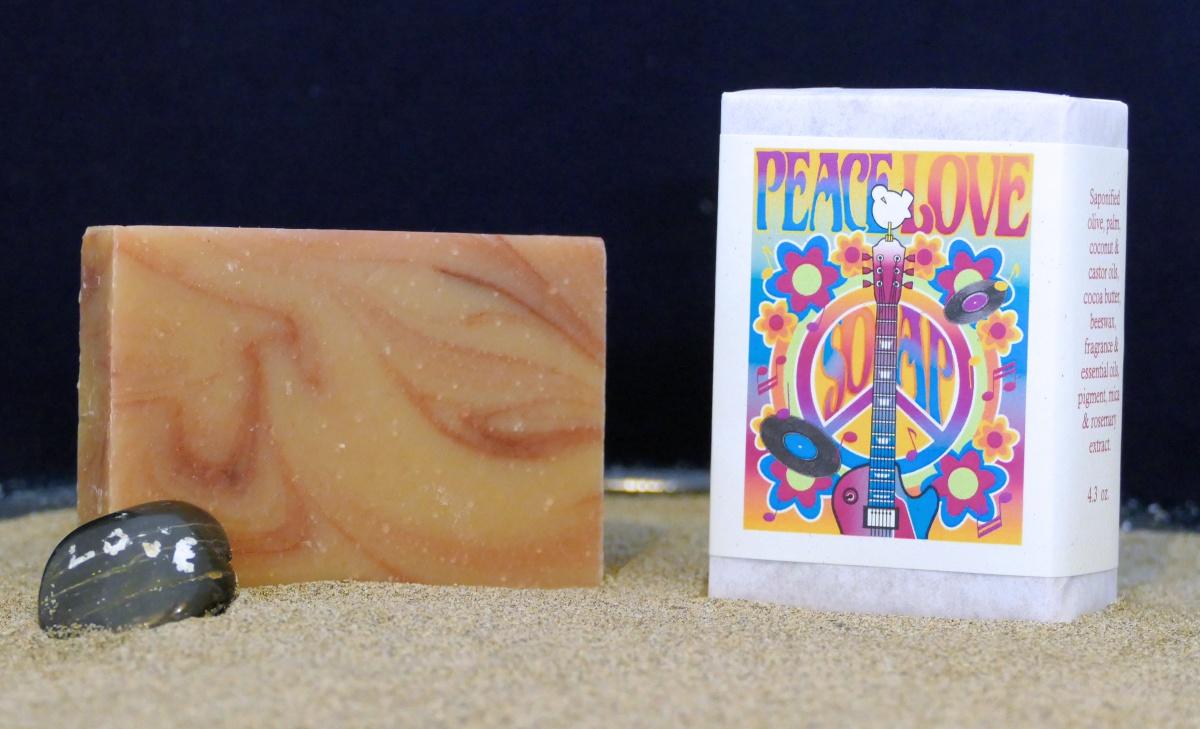 Harmony Soapworks - Peace Love Soap